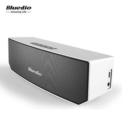 Bluedio BS-3 Wireless Stereo Bluetooth V4.1 Speakers Portable Soundbar Woofer 3D