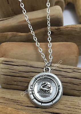 Once Upon A Time EMMA SWAN Necklace Pendant - UK Stock