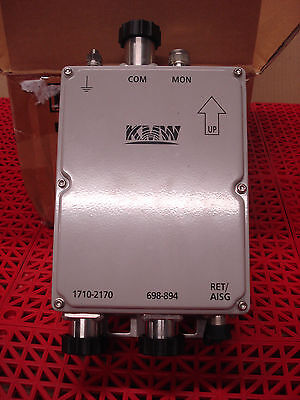 KMW Cross Band Coupler KDXCV0012017 Diplexer w/Sniffer & AISG Ports 700MHz  NEW