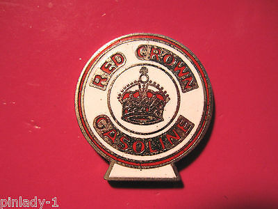 RED CROWN GASOLINE  - hat  pin , lapel pin , tie tac , hatpin GIFT BOXED