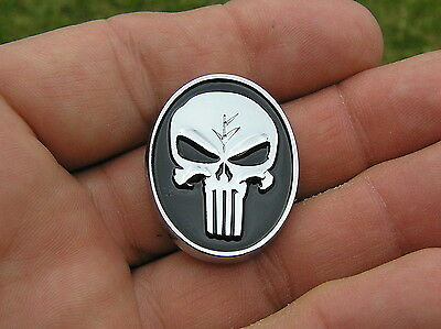 PUNISHER SKULL LAPEL PIN Badge *HIGH QUALITY Emblem suit HARLEY-DAVIDSON Biker