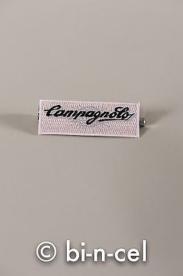 New Campagnolo Campy Cycling Vintage Style Script Logo Embroidered Patch Badge