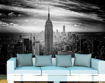 3D New York, USA Wall Paper Wall Print Decal Wall Deco Indoor wall Murals