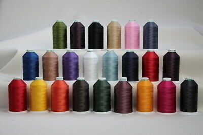 Bonded Nylon Sewing thread UV M20 x 1500mt Horse rug binding, bags,tents,canvas