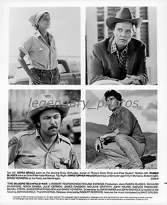 1987 The Milago Beanfield War Movie Press Photos (3)