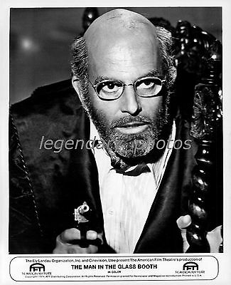 1975 The Man in the Glass Booth Movie Press Photo