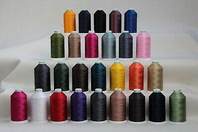 Bonded Nylon Sewing thread UV M40 x 3000mt Horse rug binding, bags,tents,canvas