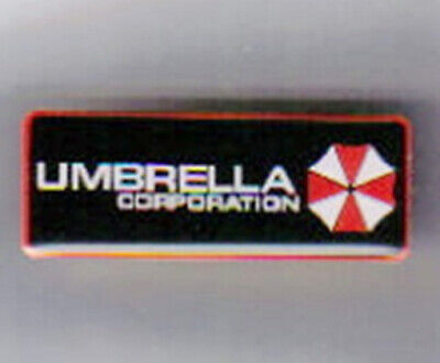 Resident Evil Umbrella Corporation Chest Logo Metal Enamel Pin NEW UNUSED