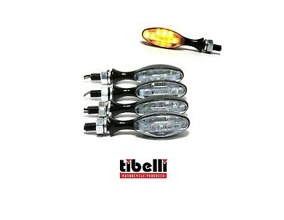 4X LED INDICATOR TURN SIGNAL SCOOTER 6V 6 VOLT 6VOLT VERSION Moped Motorbike