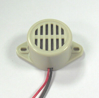 12V Electronic Warning Buzzer / sounder for door alarms, trailers, indicators