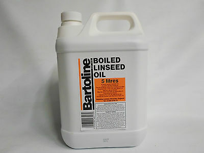 5 Ltr Bartoline Boiled Linseed Oil - 5 L -
