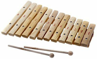 D'Luca 12 Notes Wood Xylophone with Music Cards, XL12A