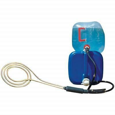 Zodi Fire Coil Water Heater - USA Made, Delivers Hot Water w/Just A Campfire