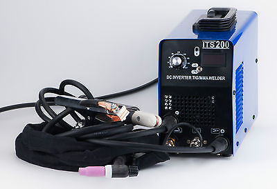 IGBT ITS-200 110V TIG MMA Welding Machine Stainless Carbon Steel Consumable~