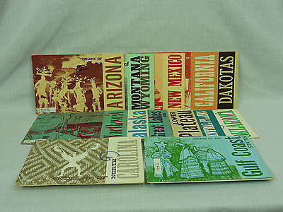 1966 Bureau Indian Affairs 13 Booklet Series Indians of Complete Set 1st Year