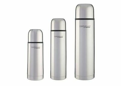 Thermos Thermocafe Stainless Steel Vacuum Flask 0.35L 0.5L 1.0L 8 Hours Hot