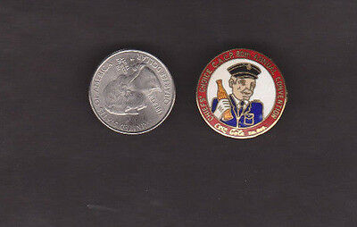 1985 Coca-Cola Canadian Assoc. Chiefs of Police 80th Convention tie tack/pin
