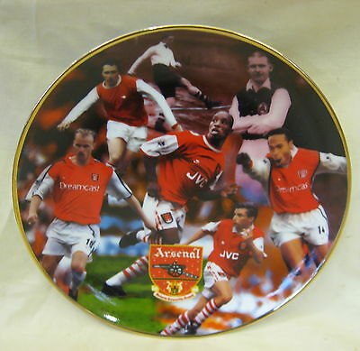 NEW Danbury Mint Arsenal F.C. Great Strikers Fine Porcelain Collectors Plate