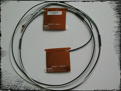 2 interne MiniPCI WLAN Notebooks Antenne Draft-N bis 40% Gewinn