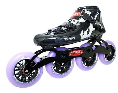 Size 5 to12 Inline-Skates TruRev 3 wheel  Inline Speed Skate complete package