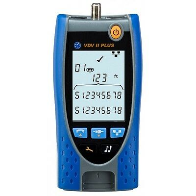 IDEAL Networks VDV II PLUS Voice, Data and Video Cable Tester and Verifier