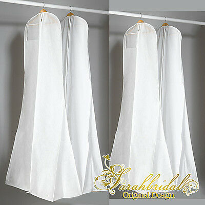 Wedding Dress Cover Storage Dustproof Breathable Large Bridal Gown Garment Bags
