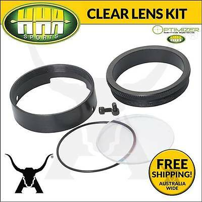 NEW HHA Hunter Clear Lens Kit for Optimizer Single Pin Bow Hunting ArcherySights