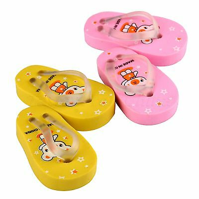 1×Pair Cute Flip Slippers Pencil Eraser Rubber Stationary Kids Student Gift Toys