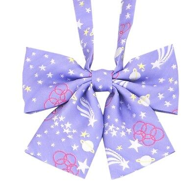 Japanese Student JK School Unifrom Jacquard Embroidery Bow Tie Cosplay Bowknot