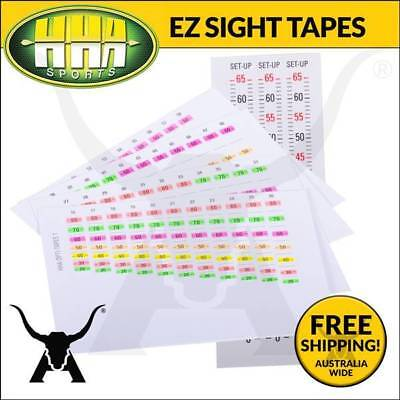 Brand New Hha Ez Tapes Yardage Tapes For Optimizer Lite Single Pin Archery Sight
