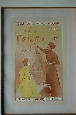 French Poster - Charles Verneau-Artist