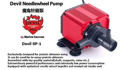 needle wheel rotor pump, special design for Protein Skimmer,marine source SP1
