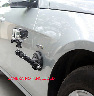 Movofilms Car Suction Cup Mount for GoPro Window Windshield Windscreen Video