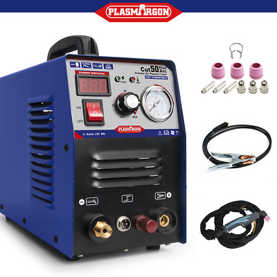 50A Plasma Cutter Pilot Arc 230V CNC Compatible WSD60p Torch+ Consumable CUT50P