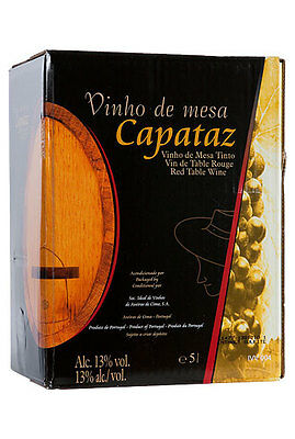 10 L Capataz Rotwein aus Portugal Bag in Box / Party Box / 1,99 €/L
