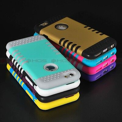 "10/Lot Hybrid Shockproof Rubber Rugged Hard Case Cover for 5.5"" iPhone 6 6s Plus"
