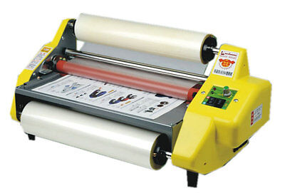 Updated  New version Four Rollers Hot and cold roll laminating machine for 13""