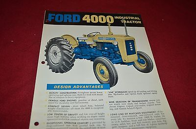 Ford Tractor 4000 Industrial Tractor Dealer's Brochure DCPA2