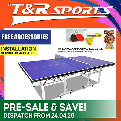 25Mm Top 50Mm Leg Ping Pong Table Ittf Approved Manufacturer Free Post*