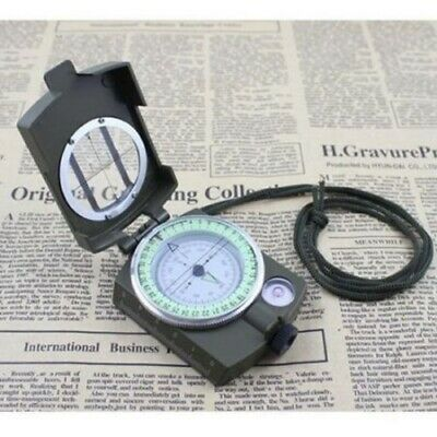 Pocket Military Hiking Walking Army Geology Metal Compass