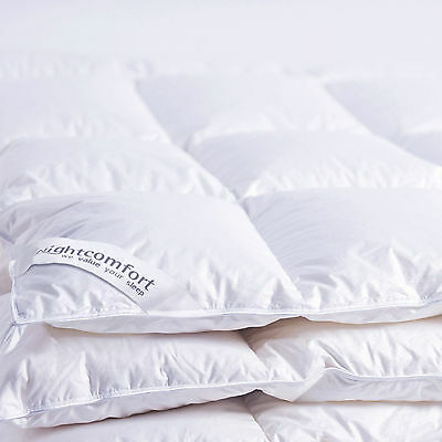 Ultimate Hungarian White Goose Feather & Down Duvet / Pillow / Mattress Toppers