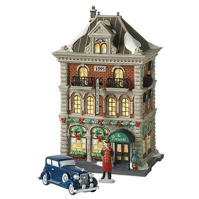 Dept 56 CIC THE PRESCOTT hOTEL Christmas in the City RETIRED MIB