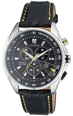 Citizen Eco-Drive Chronograph Tachymeter Sports Men's Watch AT0797-01E