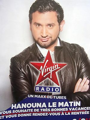 Publicite  Radio   Virgin Radio    Hanouna    En 2012   Ref 10489