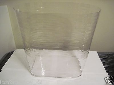 PLASTIC  PROTECTOR for Longaberger Medium Oval Waste Basket NEW