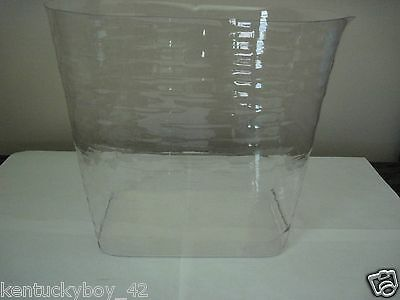 PLASTIC  PROTECTOR for Longaberger Small Oval Waste Basket NEW
