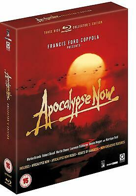 Apocalypse Now Special Edition 3 Disc (Blu Ray) Inc Hearts Of Darkness (C-15)