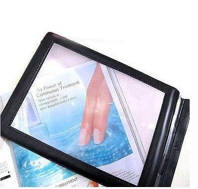 Magnifier A4 Full Page Large Sheet Magnifying Glass Reading Aid Lens Fresnel