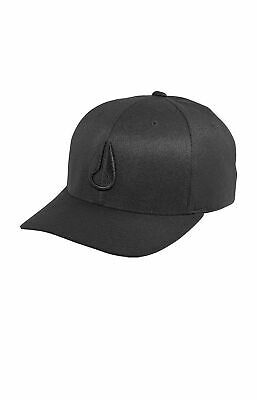 New Nixon Men's Deep Down Ff Athletic Cap BLACK FREE POST HATS CAP'S NEW