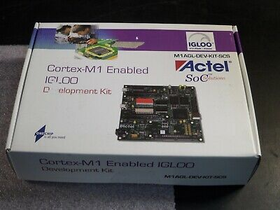 (1x) Actel - M1AGL-DEV-KIT-SCS - Cortex-M1 Enabled IGLOO Development Kit